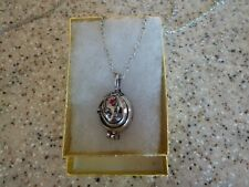 Usa - The Vampire Diaries Elena's Vervain Antique Silver Locket Vintage Necklace