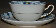 "Tirschenreuth Bavaria China ""Tulsa"" Tea Cup & Saucer Mint Condition"