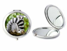 Lemur Compact Mirror Ideal Ladies Birthday Mothers Day Gift T83