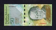 F.C. VENEZUELA , 50 BOLIVARES 2009 , S/C ( UNC ) , P.92b .