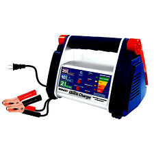 NEW Quick Battery Charger Maintainer 2, 10, 20-AMP Microprocessor 12 volt Rally
