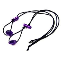 Hot Racing ETH1807 Elastic 1/8 Tire Holder Bands (Purple)