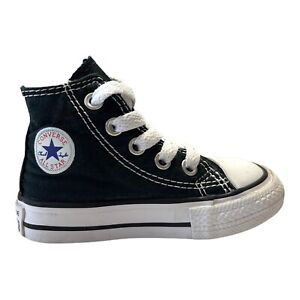 Infants Converse CT H - M9160 - Black White Classic Trainers Size 4