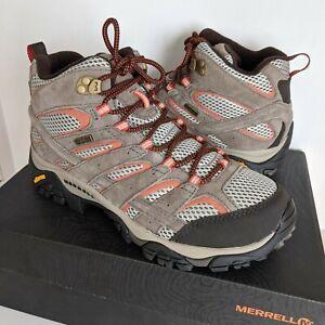 Merrell Moab 2 Mid Waterproof Womens Hiking Shoes - Size 10 W - NEW w/Box