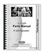 Hough H 120 Payloader Loader Parts Manual Catalog Sn 31ah 1079 Up