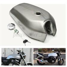 9L 2.4 Gal Motorcycle Retro Fuel Gas Tank Petrol Cap For Honda CG125 Cafe Racer