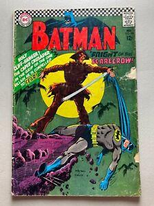 Batman #189 • DC Comics 1967 • 1st Silver Age Scarecrow • A • GD 2.0