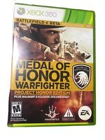 Medal of Honor: Warfighter Project Honor Edition with DVD Documentary (Xbox 360)