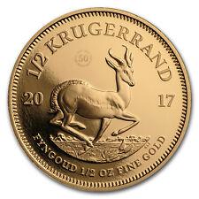 2017 South Africa 1/2 oz Proof Gold Krugerrand