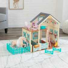 Kidkraft Sweet Meadow Horse Stable | Toy Horse Stable House