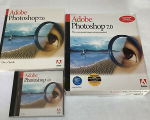 Adobe Photoshop 7.0 full Version for Macintosh (Mac) (# 90037693) Sealed CD EDU