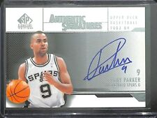 2003-04 Upper Deck SP Signature Edition Autograph #AS-TP Tony Parker