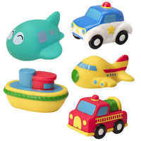Lovely Soft Plastic Transport Model Play In The Water Baby Kids Bath Toys-Random