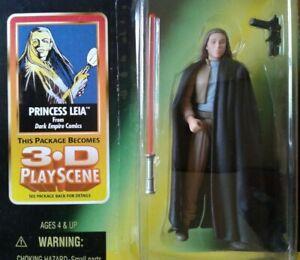 Star Wars Princess Leia w/ Lightsaber & Blaster, EU Dark Empire green card