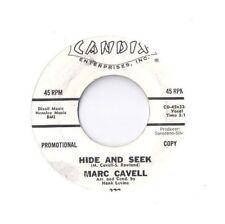 MARC CAVELL Hide and Seek 45 RECORD PROMO TEENER ROCK R&B SOUL