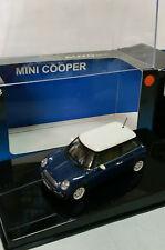 AUTO ART 1/43 - BMW MINI COOPER BLUE