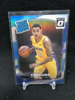 SEE NOTES*** KYLE KUZMA 2017-18 Optic #174 Silver Holo Prizm Rated Rookie T64
