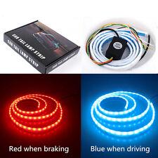 120CM RGB 5050 LED Dynamic-Streamer-Turn-Signal-Tail-Trunk-LED-Warning-Light USA