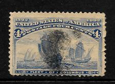 US 1893, 4 C Ultramarine, SC 171, Columbian Exposition Issue, U