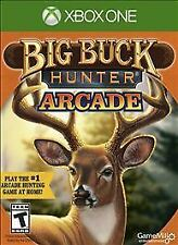 BIG BUCK HUNTER ARCADE XBOX ONE NEW! HUNTING, HUNT DEER, BEAR, MOOSE, ELK
