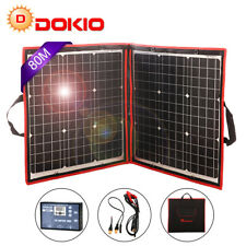 80 W12 V Monocrystalline Foldable Solar Panel with Inverter Charge Controller
