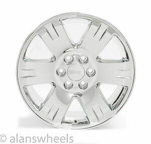"4 NEW Chevy Suburban Tahoe Chrome 20"" Wheels Rims Lugs Free Ship 5307"