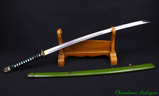 98 type Japanese Katana Samurai Sword Hand Forged manganese steel sharp #3230