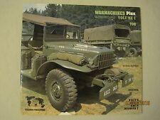 Verlinden Productions War Machines Plus Vol.1 Willy's, Dodge, GMC, Diamond T#736