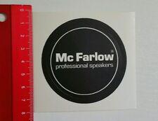ADESIVI/Sticker: MC Farlow Professional Speakers (180616186)