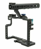 Panasonic Lumix Top For Cage Rig Grip GH5 Handle Camera With DSLR Camera