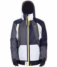 BILLABONG Wolle Nyvelt Signature Grey 10K snowboard JACKET size XL  retail $399