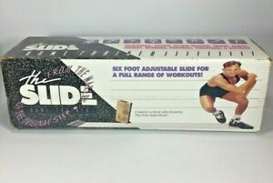 The Slide Aerobic Lateral Home Trainer Kit Exercise Work Out Equipment 90s NOS