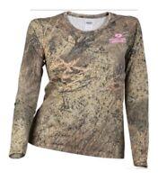 Mossy Oak Brush Camo Tee Shirt Ladies 2XL L-1