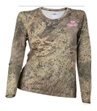 Mossy Oak Brush Camo Tee Shirt Ladies Small D-1
