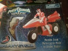 Power Rangers In Space Galaxy Cycle red Ranger Figure 1997 CIB
