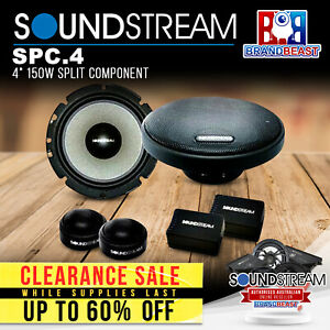 "Soundstream SPC.4 4"" 150W Split Component"