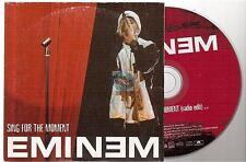EMINEM sing for the moment CD PROMO french card sleeve pochette : état moyen