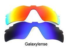 Galaxy Replacement Lenses For Oakley Radar Path Vented Blue/Red Polarized