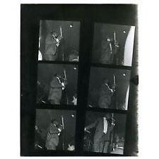 Stevie Wonder Black + White Contact Sheet 6 Images