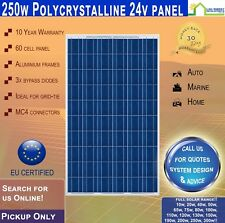 250W 24V Solar Panel Polycrystalline 250 Watt 24 V Pick Up Only