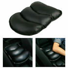 Black Car Armrest Arm Rest Center Console Pad Cover Vehicle Cushion Seat Box Mat