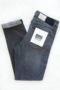 NEUW Sister Ray NEW Slim Slouch Ripped Women's Jeans Sz 27x32 / AU 8-10 RRP $189
