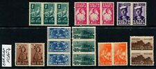 SOUTH AFRICA - 1942 KGVI Set to 1/- BROWN +VARIETY MH SG97-04/99c Cv £70 [A8036]