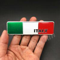 Metal Italy Italian Flag Car Emblem Badge Motorcycle Gas Tank Decal Sticker