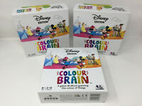 Disney Edition Colour Brain Board Game Card Game Family Fun SOLD FOR SPARES