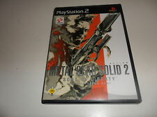 PlayStation 2  PS 2  Metal Gear Solid 2: Sons of Liberty