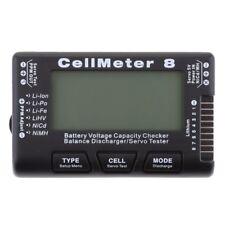 Battery Capacity Checker Servo Tester RC CellMeter 8 for LiPo LiFe Li-ion NiMH