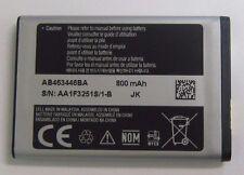 New Original Samsung AB463446BA Li-Ion Battery 3.7V 800mAh AA1F325S/1-B