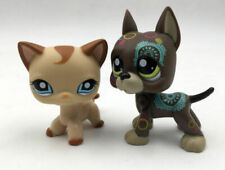 LPS ❤ Littlest Pet Shop ❤ SPLENDIDA BIANCO USA Collie OOAK personalizzate dipinte a mano
