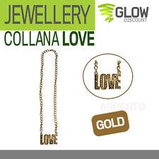 COLLANA LOVE carnevale accessori costumi hip hop rapper eminem fedez 900112